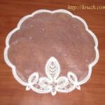 Napkin. Viatka style lace