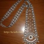 Tie. Viatka style lace