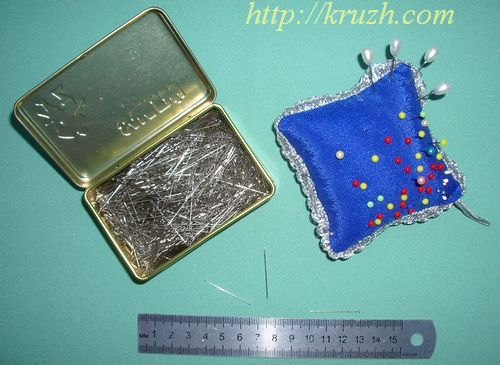 Fig.1.20. Pins and pincushion
