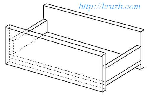 Fig.2.4. The first author's rest for a bolster