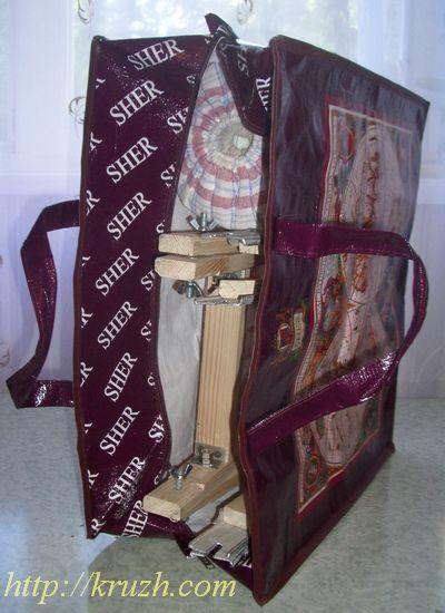 Рис.2.12. Козлы с валиком в дорожной сумке