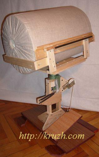 Рис.2.30. Подставка с валиком диаметром 36 см «Лыжи» положены плашмя