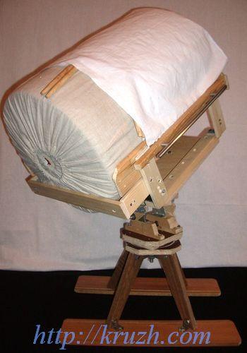 Рис.2.37. Подставка с валиком диаметром 36 см