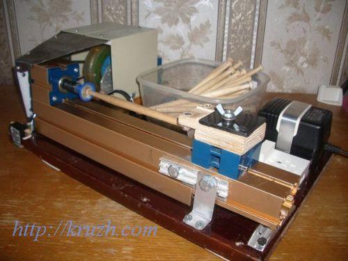 Рис.4.12. Электрифицированное приспособление для намотки нити на коклюшки