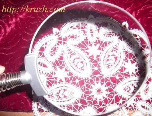 Рис.5.5. Лупа из органического стекла без оправы
